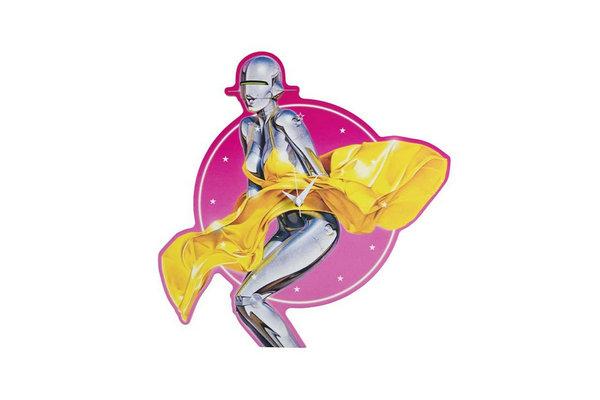空山基 x Medicom Toy 全新联名「Sexy Robot」系列地毯1.jpg