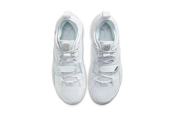 纯白配色 Jordan Why Not Zer0.3 鞋款来袭,干净利落的清爽装扮