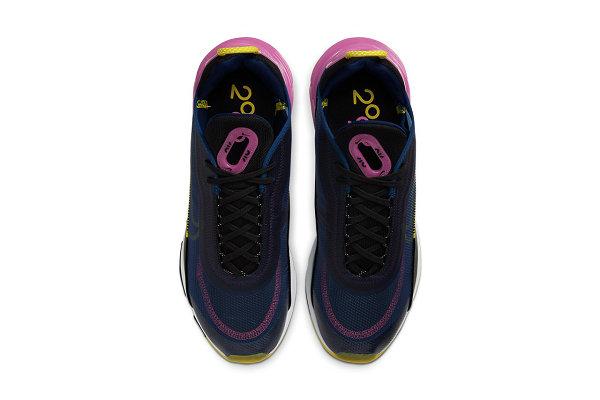Air Max 2090 全新蓝紫红配色鞋款即将发售,极具未来科技感
