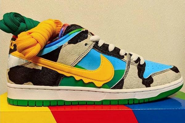 Nike SB x Ben & Jerry's 全新联名鞋款曝光,雪糕联名~