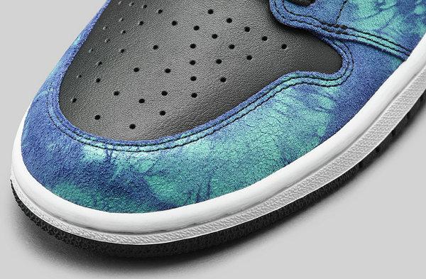 """扎染 Air Jordan 1""""Tie Dye""""配色鞋款预计 2020 夏季发售"""