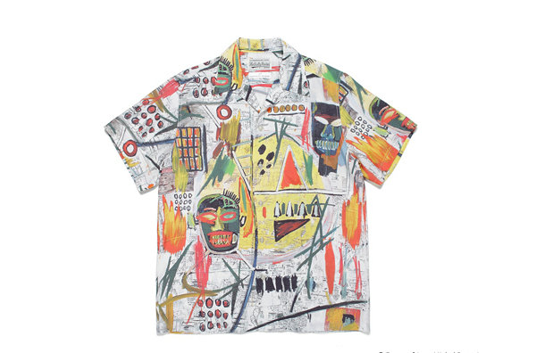 WACKO MARIA x Jean-Michel Basquiat 联名衬衫系列明日上架