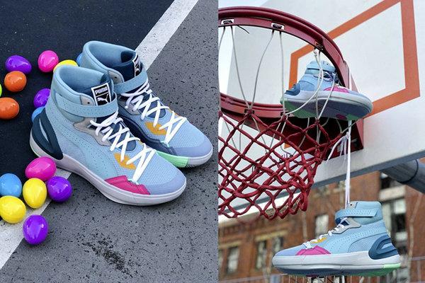 彪马 Sky Modern 篮球鞋全新复活节主题配色释出,海外登陆