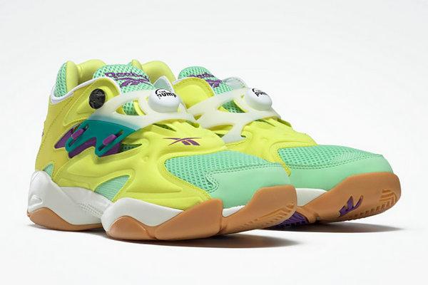 锐步 Pump Court 鞋款全新复活节限定配色上架发售