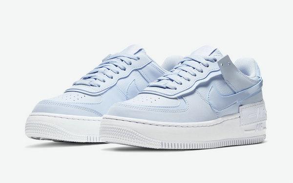 AF1 Shadow 鞋款全新清爽海洋蓝配色释出,解构风设计
