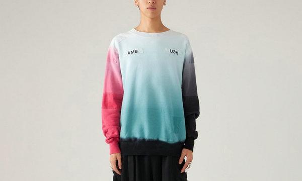 日潮 AMBUSH 全新拼接染色卫衣上架发售,风格独特