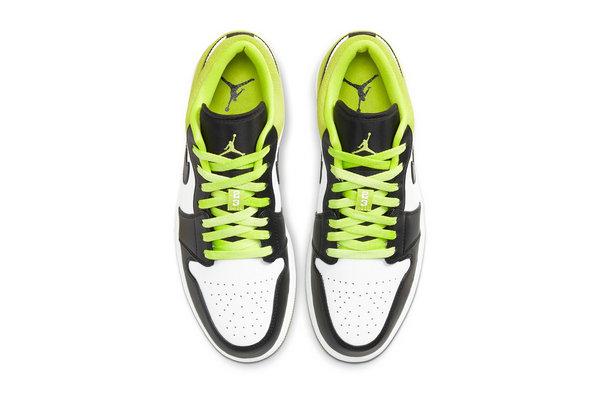 AJ1 Low SE 鞋款全新萤光绿配色曝光,时下大热色调