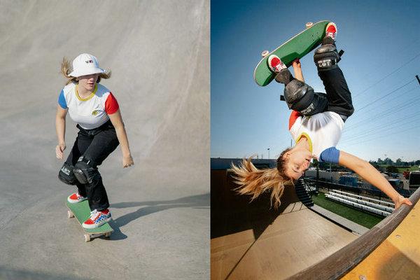 范斯 x Brighton Zeuner 全新联名职业滑板鞋服系列释出