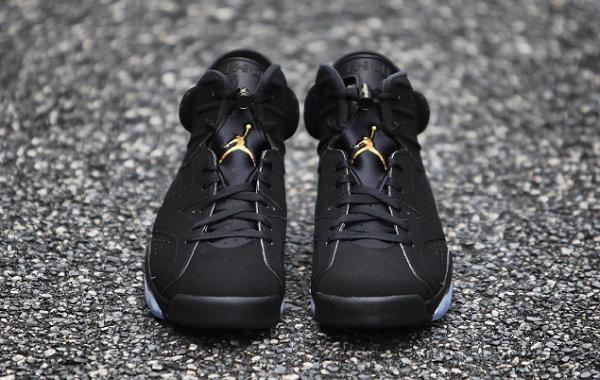 "AJ6""DMP""黑金配色鞋款下周正式发售,华丽细节装饰"