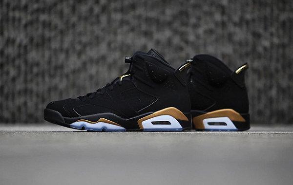"""AJ6""""DMP""""黑金配色鞋款发售.jpg"""