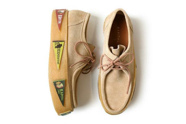 日潮 KAPITAL 全新 3D-KOUNTRY Wallabee 厚底鞋款现已发售