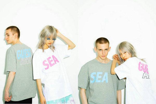 GUESS x WIND AND SEA 全新联名街头服饰系列即将上架