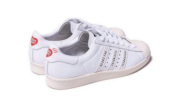 阿迪达斯 x Human Made 全新联名 Superstar 鞋款释出