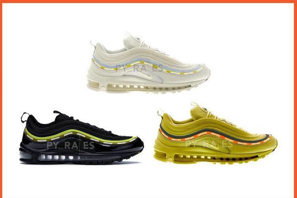 UNDEFEATED x Nike 全新联名 Air Max 97 系列鞋款曝光