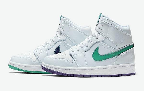 """AJ1 Mid 鞋款全新""""Nike Hoops""""主题配色曝光,细节相当丰富!"""