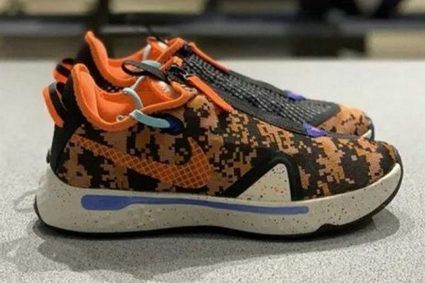 保罗战靴 Nike PG4 全新数码迷彩配色释出,细节满满