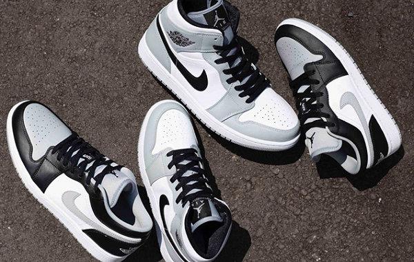 """Air Jordan 1 两双""""灰白""""配色鞋款上架,迪奥同款色?"""