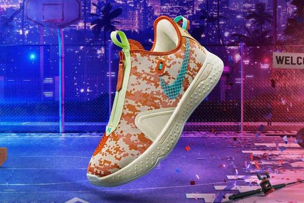 《NBA 2K20》x Nike 全新联名 PG 4 鞋款曝光,玩游戏才能买?
