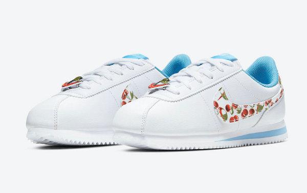 """Nike Cortez SE""""樱桃""""鞋款即将发售,糖果气质!"""