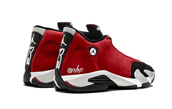 "Air Jordan 14""GymRed""配色鞋款曝光,丰富质感!"