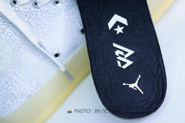 威少 x AJ x 匡威三方联名鞋款实物曝光,朋克文化设计