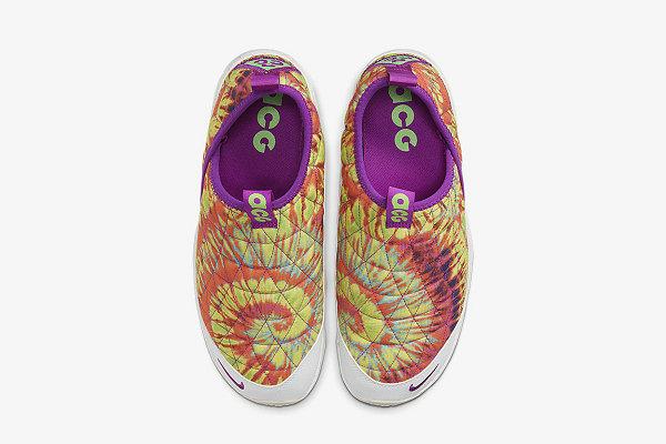 耐克 ACG MOC 3.0 全新扎染配色鞋款发布,浓烈夏日气息