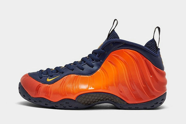 "橙喷 Air Foamposite One 鞋款""Rugged Orange""即将提前发售"