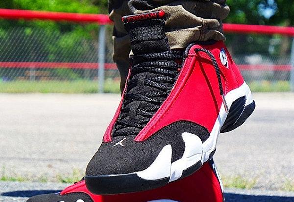 "Air Jordan 14""Gym Red""配色鞋款释出.jpg"