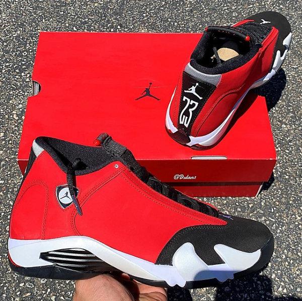 """Air Jordan 14""""Gym Red""""配色鞋款曝光.jpg"""
