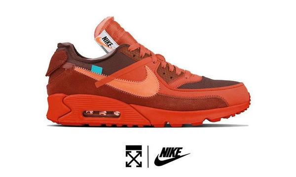 Nike x Off-White 全新联名 Air Max 90 鞋款或将 7 月登陆
