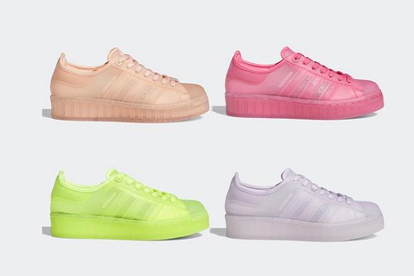 阿迪达斯 Superstar Jelly 全新果冻鞋来袭,四款配色任你选