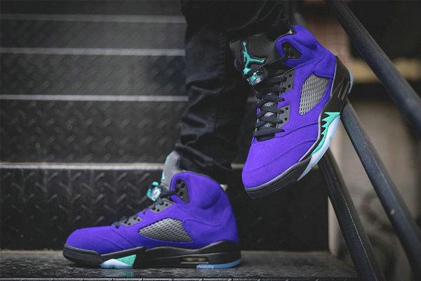 紫葡萄 Air Jordan 5 鞋款发售信息更新,希望不再跳票