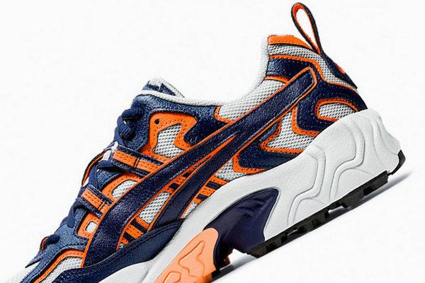 亚瑟士 Gel-Nandi OG 鞋款全新芬达配色来袭,颜值不俗