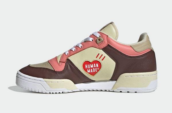 阿迪达斯 x Human Made 全新联名 Rivalry Low 鞋款释出