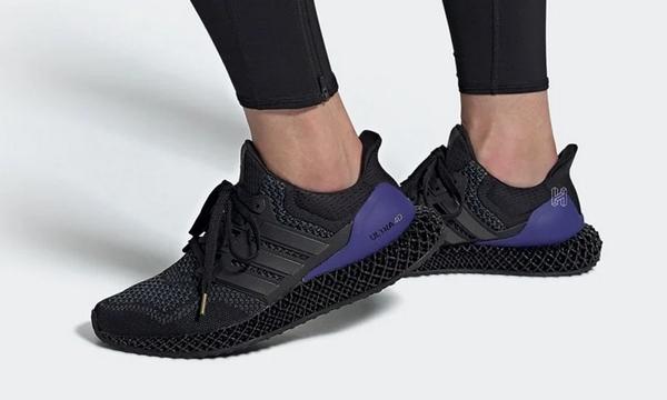 初代黑紫配色 Ultra 4D 鞋款官图公布,毫无违和感~