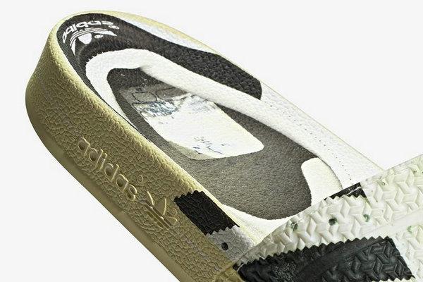 阿迪达斯全新「Superstar」Fake Print 拖鞋上架发售