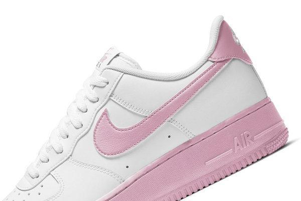 「草莓味」Air Force 1 Low 鞋款曝光,视觉效果抢眼