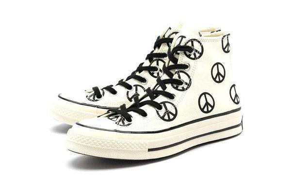 匡威全新「和平」主题 All Star Chuck 70s 鞋款上架发售