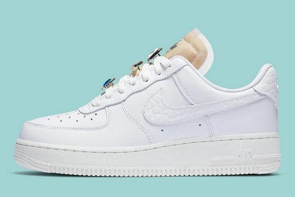 「宝石」Air Force 1 鞋款曝光,Luxury 级规格~