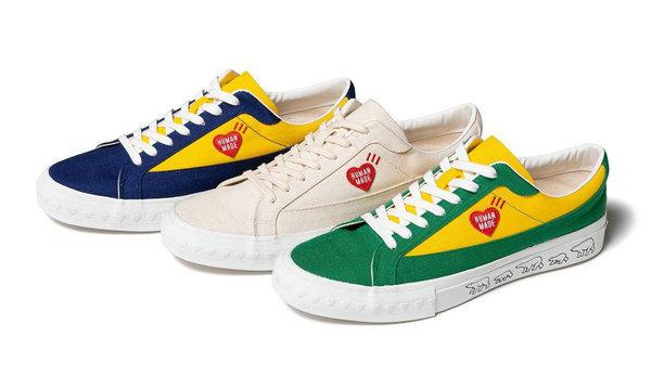 日潮 HUMAN MADE 全新 Canvas Sneakers 系列鞋款上架发售