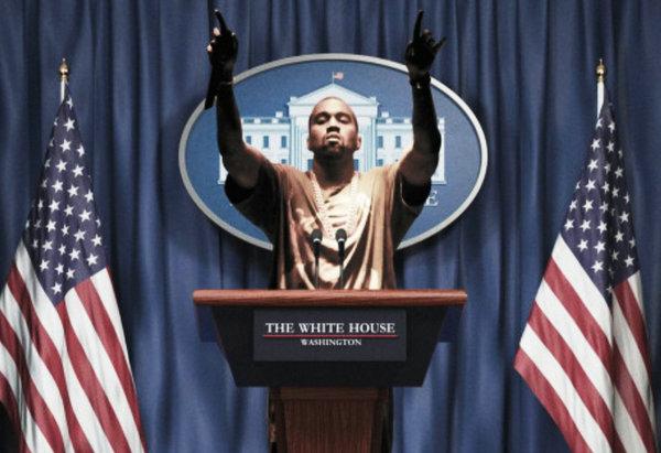 侃爷竞选 2020 美国总统!这是要起飞的节奏么~