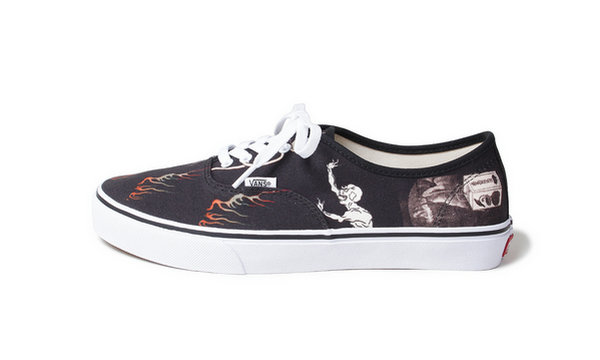 范斯 x WACKO MARIA 全新联名 Authentic 鞋款系列即将上架