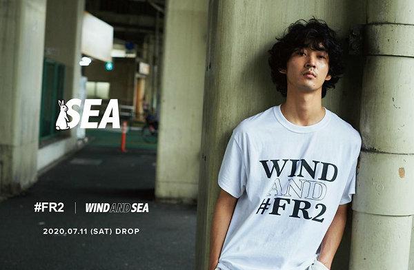 石川凉 FR2 x WIND AND SEA 全新联乘系列预告来袭
