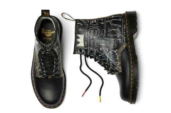 马丁博士 x Jean-Michel Basquiat 全新联名鞋款系列即将发售