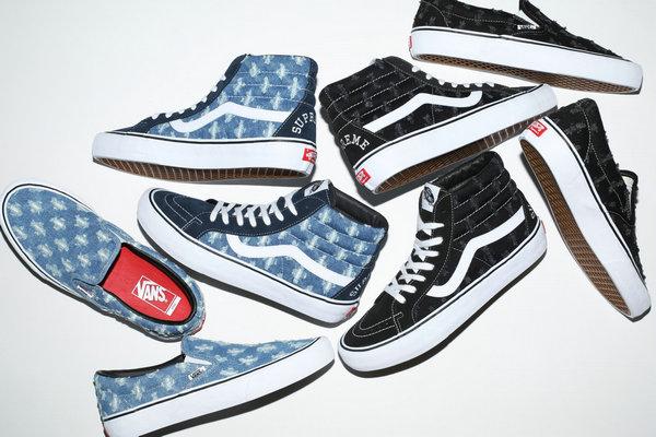 美潮 Supreme x Vans 2020 全新春夏联名系列鞋款正式公布