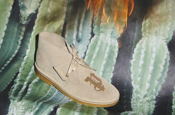 Palm Angels x 其乐全新联名 Desert Boot 700 沙漠靴系列上市
