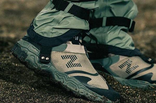 新百伦 TOKYO DESIGN x Snow Peak 联名鞋款曝光,可拆卸鞋帮
