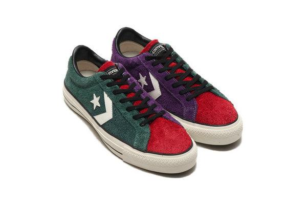 匡威全新 Proride SK OX 复古鞋黑棕、紫绿双色释出