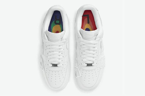 耐克 x CPFM 联名 AF1 纯白鞋款抢先预览,超大 3M 反光!