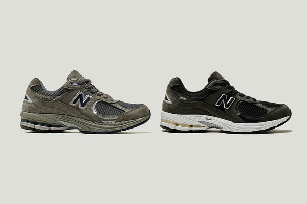 新百伦经典 2002 鞋款「Grey」&「Black」配色复刻归来